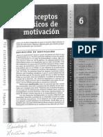 Conceptos Basicos de Motivacion Capitulo 6