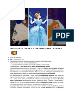 Princesas Disney e o Feminismo