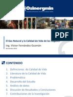 1 El Gas Natural y La Calidad de Vida de Los Hogares Victor Fernandez