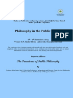 Philosophy in the Public Sphere