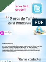 10usosdetwitterparaempresas2012-120109055731-phpapp01
