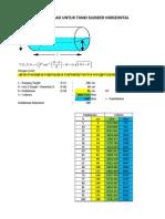 Menghitung Volume Tangki Solar Silinder