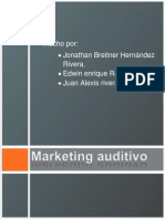 Marketing Auditivo