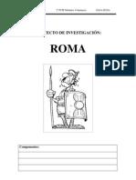 proyecto investigacion ROMA