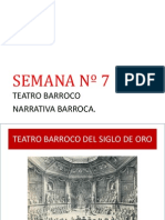 teatro barroco y narrativo