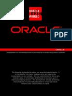 Oracle webadi