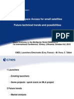 Michel Pons_Existing Space Access for Small Satellites