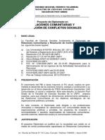 Diplomado en Relaciones Comunitarias y Resolucion de Conflictos Sociales