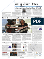 The Daily Tar Heel for Nov. 4, 2014