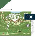 Mountaintop Map Snowshoe Mountain