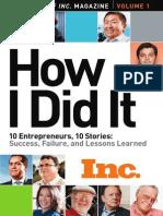 10 Entrepreneurs, 10 Stories
