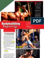 Iron Magzine Bodybuilding Beginnings