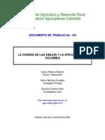 LA CADENA DE LAS ABEJAS Y LA APICULTURA EN COLOMBIA
