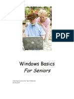Windows Basics For Seniors (Windows XP).