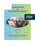 Machine Laboratory Manual - II