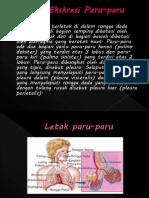 Ekskresi Pada Paru-paru