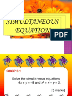 Simultaneous Equations 2013.pptx