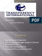 International Transprency Pakistan