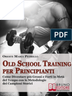 Old School Training Per Principianti