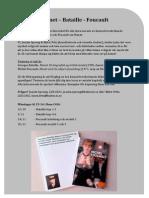 Manet – Bataille - Foucault