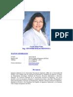 Cv Doris Rojas