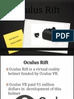Oculus Rift - Presentation
