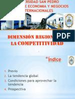 Dimension Regional de La Competitividad- Usp