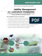 Asset Liability Management for Insurance Companies
