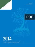 2014 Legatum Prosperity Index