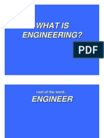 What is Engineering