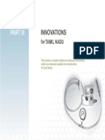 Part-III Innovations for Tamil Nadu