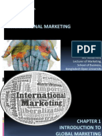 Chapter 1 Global Marketing Management