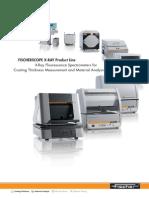 TDS_ Fischerscope EDXRF Productline