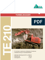 Prospekt TE210 Diesel