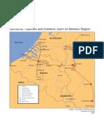 Benelux refinery map 2004