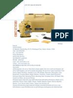 Jual Digital Theodolite Topcon DT 205 L (Hub 081389461983)