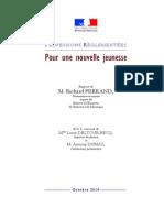 Rapport Ferrand sur les professions réglementées