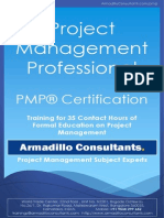 PMP Brochure by ArmadilloConsultants