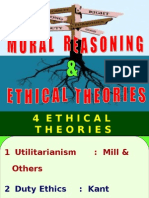 Moral Reasoning and Ethical Theories