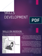 Skills Development- In-Desgn- Contents Page