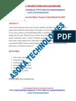 PMSM Speed Sensor less Direct Torque Control Based On EKF
