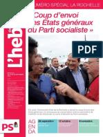 L'hebdo des socialistes n°743-744  «Coup d'envoi des Etats généraux du Parti socialiste»
