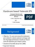 Hardware Based Network IPS