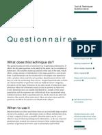 u Ft Questionnaire