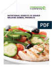 Nutritional Benefits of Higher Welfare Animal Products Report Sept