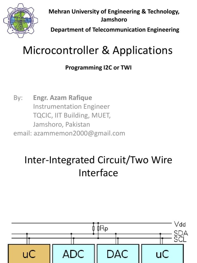 Programming I2C/TWI using AVR Microcontroller