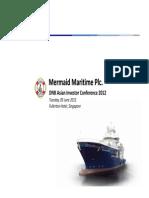 20120605 MERMAID InvestorConference DNB