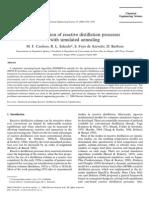 SFA JP 20000101 CES Optimization of Reactive Distillation
