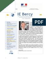IE Bercy Nº39 - octobre 2014