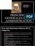 Principios Generales de La Administracion A